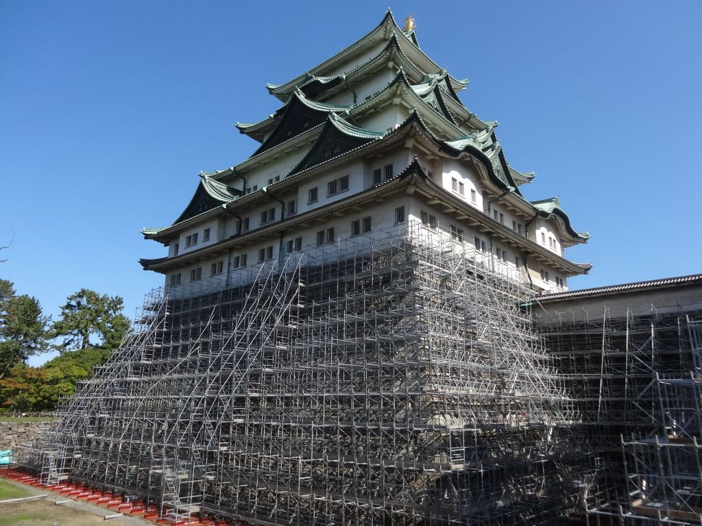 名古屋城木造復元 2022年完成は絶望的?